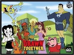 Drawn Together, Comedy Central
